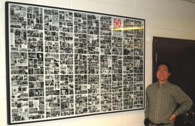 50th Anniversary Display